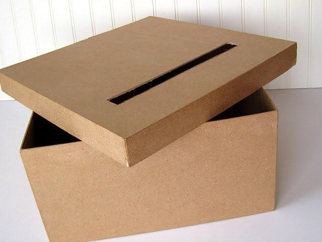 DIY Wedding Card Box – Diy Card Box for Wedding