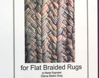 Multi-strand Braids for Flat Braided Rugs, Instructions for up to 12 Strand Braided Rugs