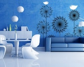 Birds And Flowers Wall Decal Wall Sticker