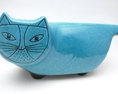 Baldelli 60's Blue Cat Bank