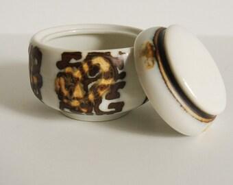 Mid-Century Royal Copenhagen Porcelain Jar