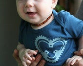 Heart Gear Organic Onsie For Baby