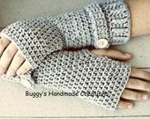 Crochet Fingerless Gloves. Wrist warmers Mittens