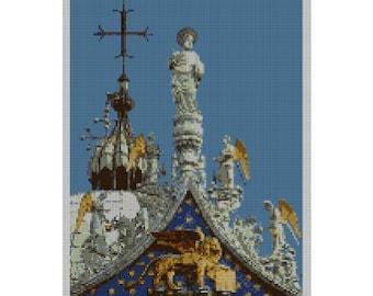 Saint Mark's Cathedral Venice Needlepoint Kit