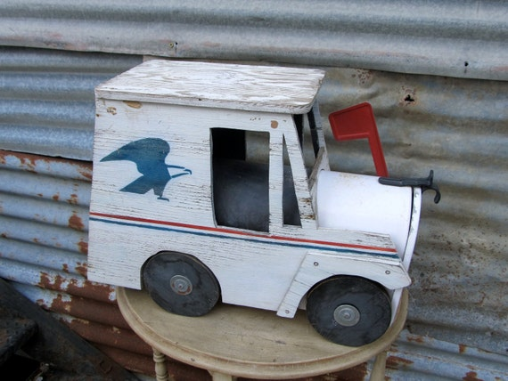 I Didn't Have His Baby But I Snatched His Mailbox Vintage Mail Truck Mailbox