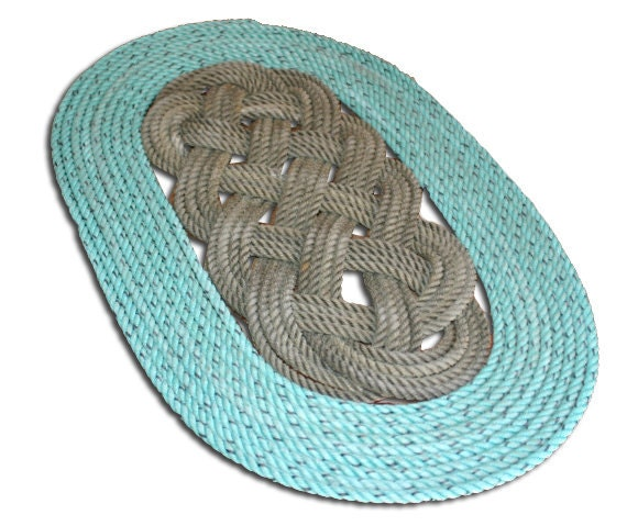 Items Similar To 100% Recycled Fishing Line Rope Mat Rope