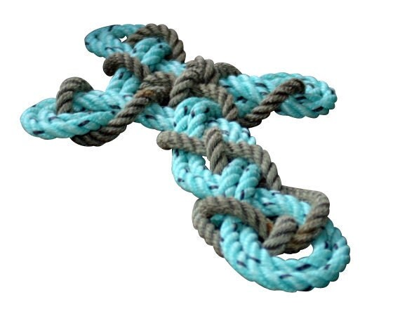 Knotted Rope Cross Easter Christmas Cross Wall