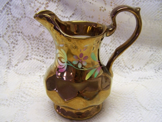 Wade Ware Copper Luster Pitcher
