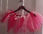 5 Princess / Ballerina Handmade Tu-Tu Party Favors: Hot Pink and Ballerina Pink