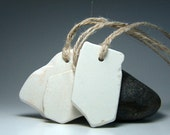 White Sea Pottery Tags or Use as Labels