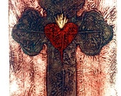 Southwest, Sacred Heart, From The Four Seasons Print Collection
