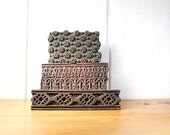 Instant Collection 3 Vintage Wooden Asian Print Blocks