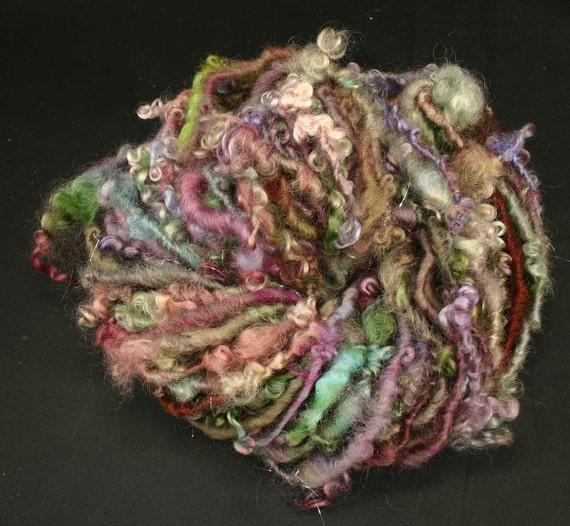 Handspun art yarn: Impressions
