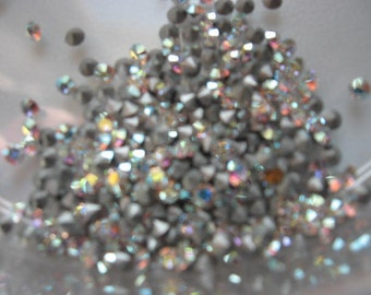 Vintage Swarovski Crystal AB Rhinestones ART 1100 pp16 ss7 2.20-2.30mm QTY - 12
