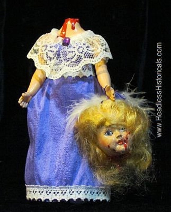 Madame du Barry - Guillotined. 6-inch doll by Headless Historicals.
