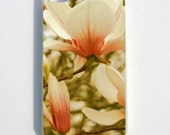 iPhone 5 Case, iPhone 4 Case, iphone 4s Case, Floral, Peach, Summer, Spring, Magnolia Tree
