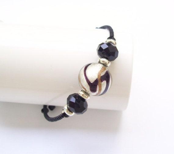 BRACELET with MURANO glass bead