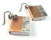 Book Jewelry: Book Earrings for Librarians, Teachers, Writers, and Readers