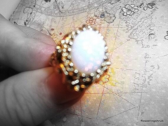 Opal Ring Vintage