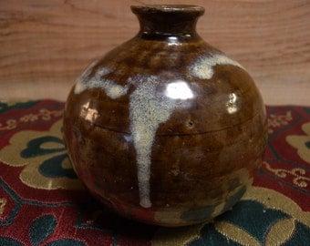 Antique bottle 1264, Japanese mingei, ameyu