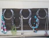 Barnwood Jewelry hanger