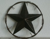 Brown Leather Covered Star