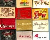 Vintage Matchbox - select 4