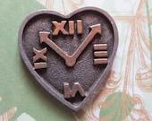 Vintage Heart Tack Pin