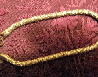 Vintage Gold Rope Bracelet