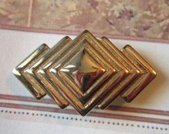 Vintage Gold Brooch - BR-469 - Vintage Brooch Gold
