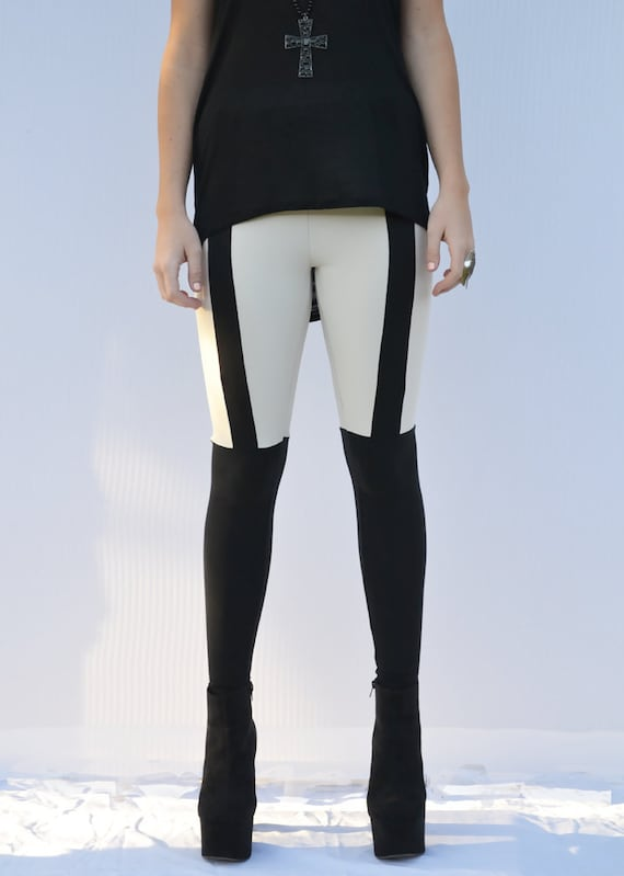 Garter Leggings over the knee thigh high riding pants