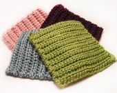 All Proceeds Go To The Japan Earthquake, Pacific Tsunami Relief Via Canadian Red Cross - Bamboo Silk Face Scrubbies in Spring Colors