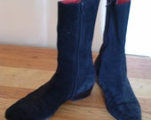 Classic Beatle Boots Made In Italy, Womens 9, Mens 7