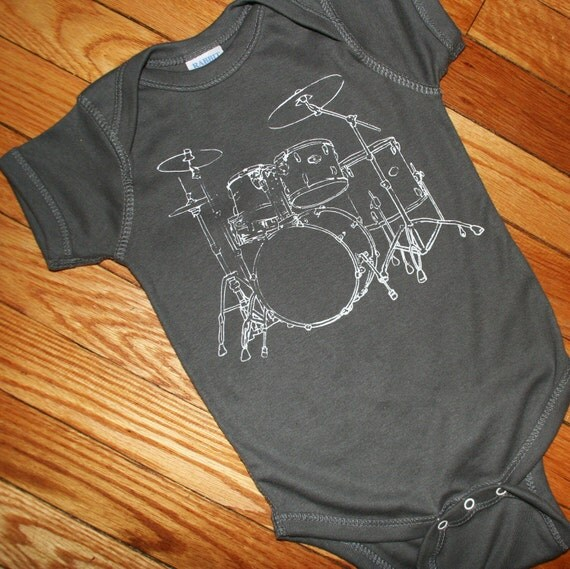 Rock Star Big Drumset Pictured in Charcoal