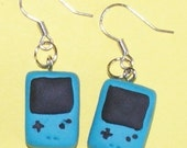 Cute Gameboy Color earrings - Turquoise