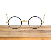Vintage Brown and Gold Frame Warwick Eyeglasses