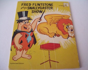 "Vintage ""Fred Flintstone and the Snallygaster show"" from 1972"