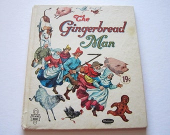 Vintage Book-- The Gingerbread Man from 1963