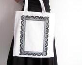 Design tote bag / Hand printed