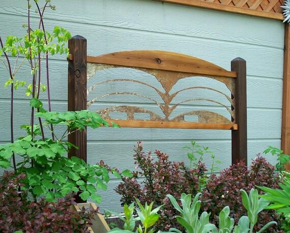 Sale Garden Decor, Trellis, Garden Art, Garden Screen