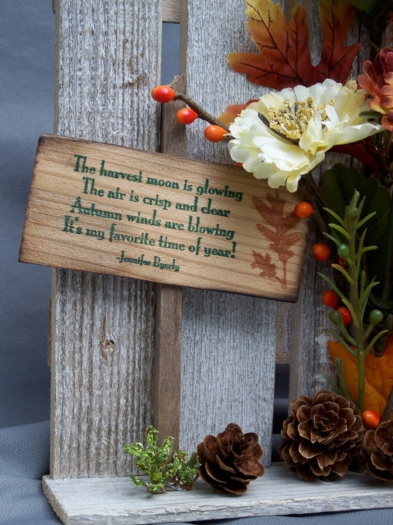 fall home decor sale autumn wall decor small fence fall decor 10851