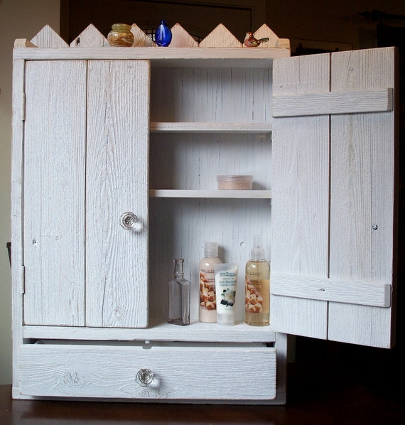 bathroom cabinet shabby country chic cabinet