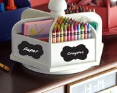 12 Get Organized Simple Design Chalkboard / Blackboard Labels