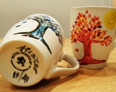 Have your coffee in a work of ART Mug