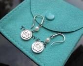 Tiffany & Co. Rose Pearl earrings