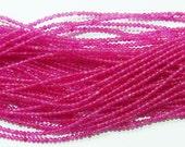 2mm Round Pink Jade Bead Semiprecious Gemstone Bead Strand 15''L Jewelry Supply Wholesale Beads