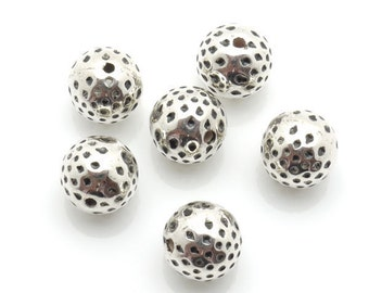 Spacer Bead CCB 11mm 100pieces Lot Silver Plated Finding 1200- Wholesale Spacer Bulk Accessory
