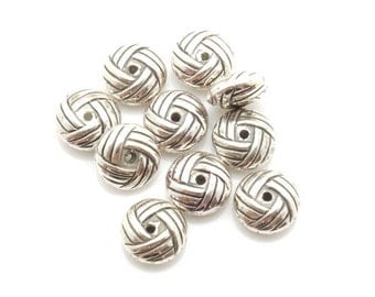 Spacer Bead CCB 4x9mm 400pieces Lot Silver Plated Finding 1201- Wholesale Spacer Bulk Accessory