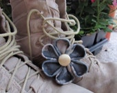 U.S. Army ACU Kanzashi Flower Hair Clip