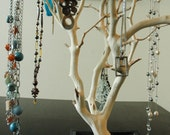 "24"" Natural Jewelry Tree / Jewelry Organizer"